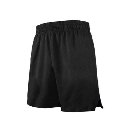 TOPTIE Multi-Sport Athletic Big Boys Basketball Shorts, 7 Inches Pocket Running Shorts-Black-XS (6) ()