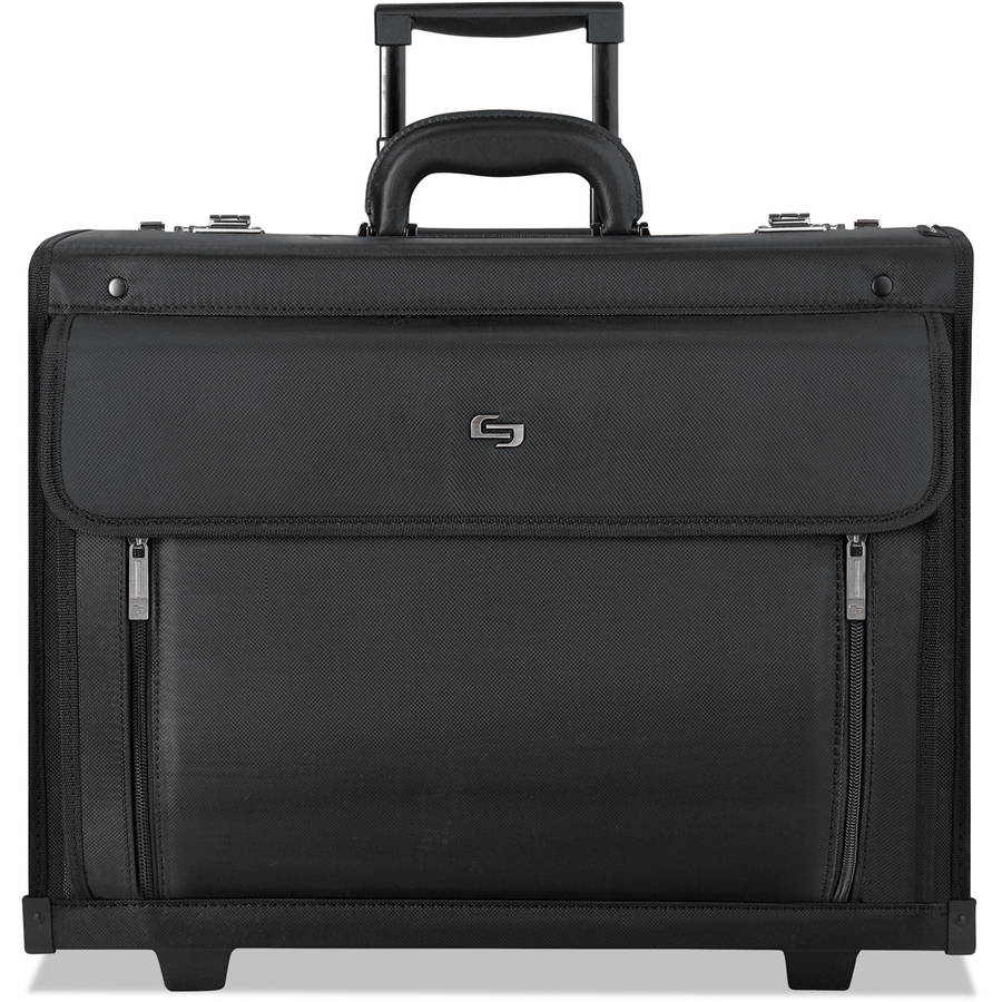 SOLO Rolling Catalog Case, Black