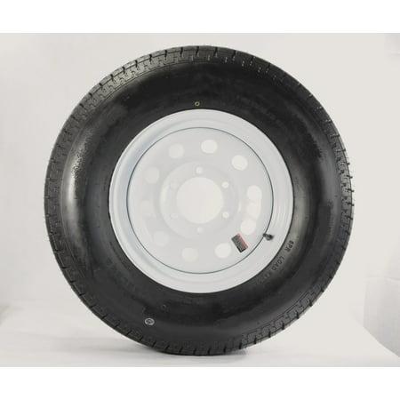 Goodyear Endurance Trailer Tire On Rim ST225/75R15E 15X6 6-5.5 White