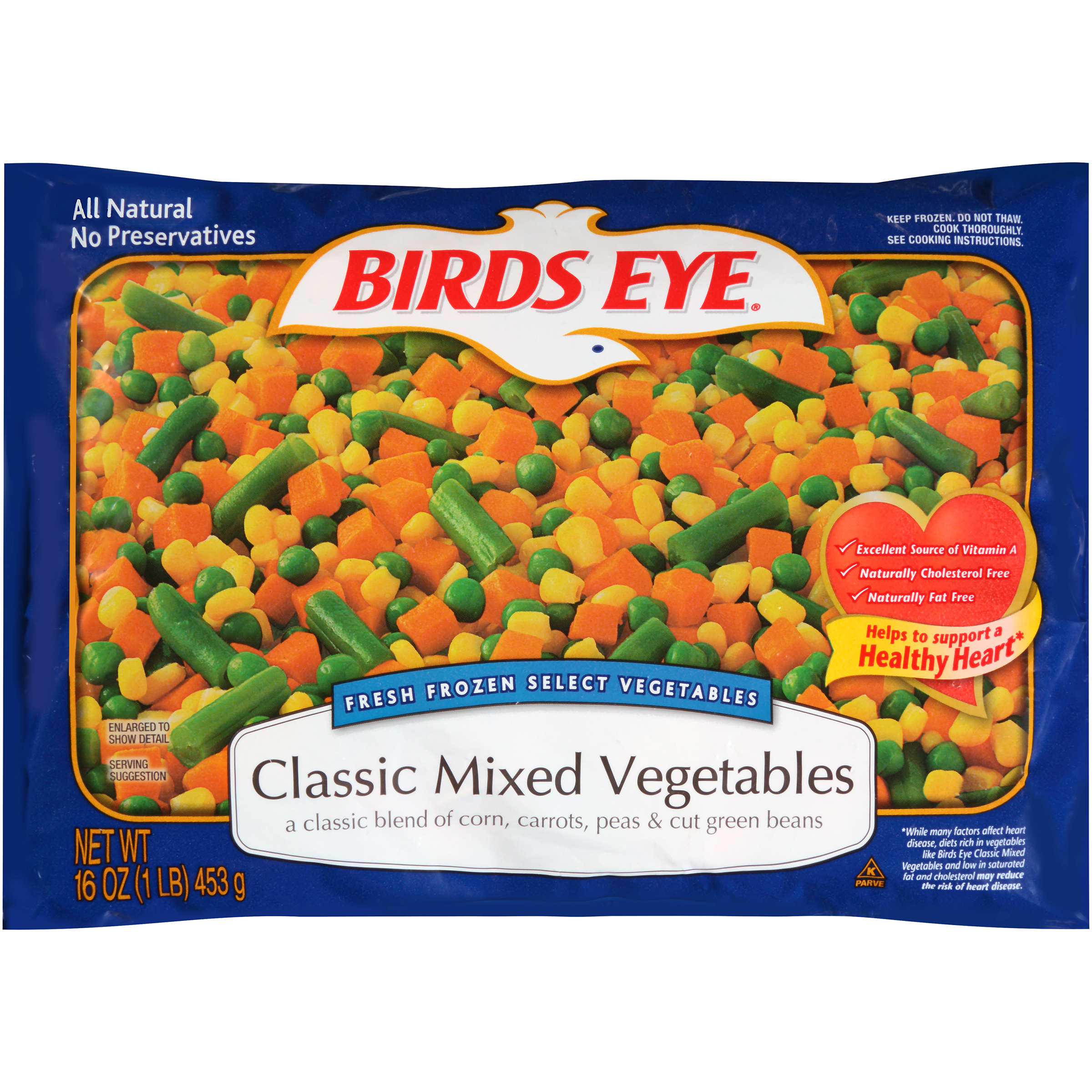 Birds Eye® Fresh Frozen Select Classic Mixed Vegetables 16 oz. Bag