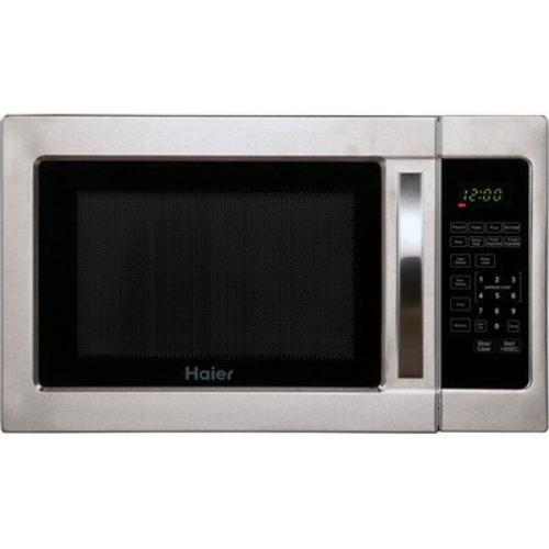 Ft. Microwave Oven, Silver Cabinet