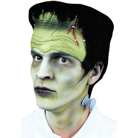 Monster Headpiece with Hair and Bolts Halloween Accessory - Crazy Hair Ideas For Halloween