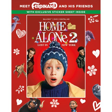 Home Alone 2: Lost In New York (25th Anniversary) (Walmart Exclusive) (Blu-ray + DVD + Digital