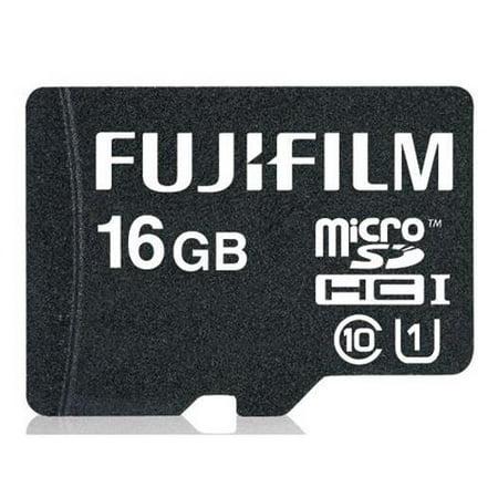 Fujifilm 16GB UHS-1 Class 10 MicroSDHC Memory (Fujifilm 16gb Sdhc Class 10 Memory Card)