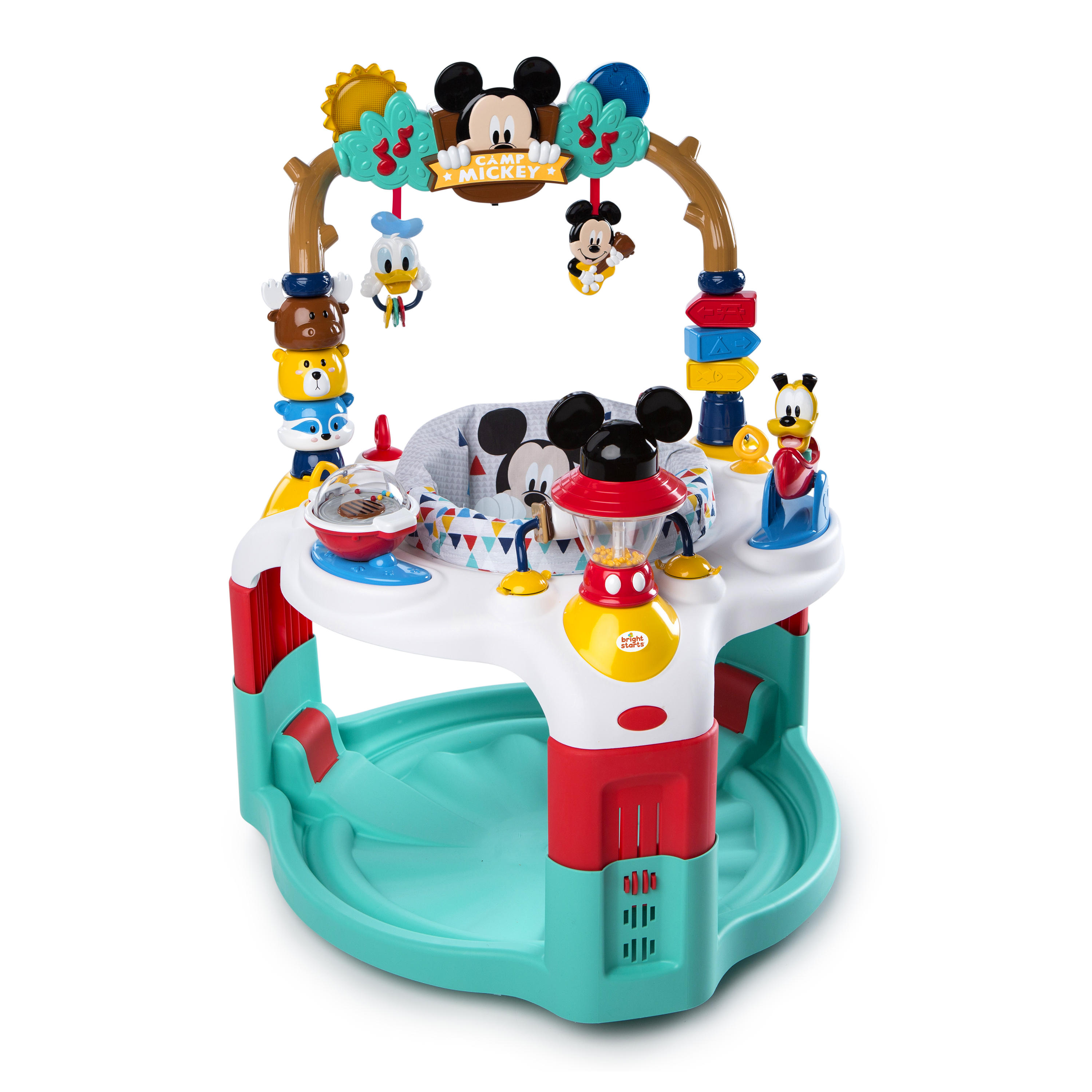 Disney Baby Mickey Mouse Camping with Friends Activity Saucer with Lights and Melodies