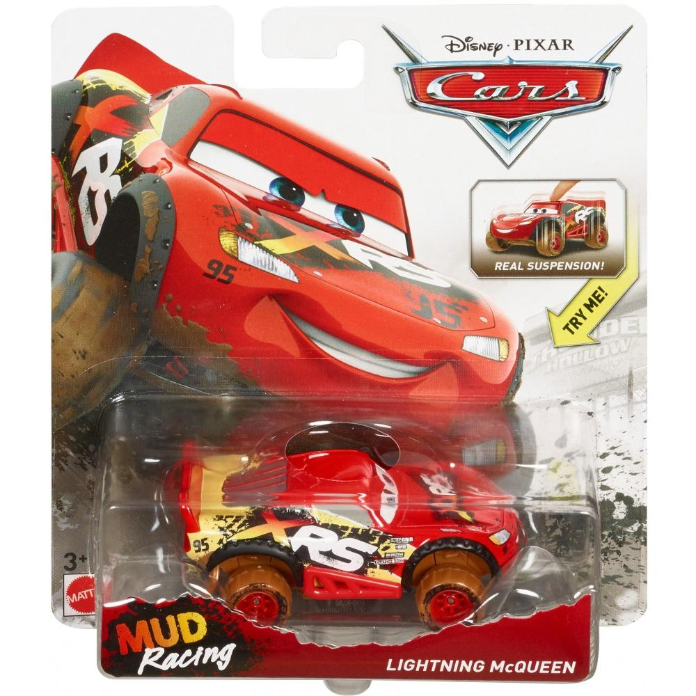 Disney pixar cars xrs mud racing lighting mcqueen die cast vehicle walmart com