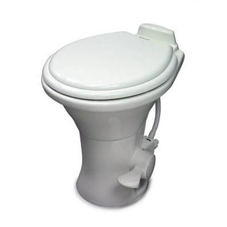 Low Profile ReVolution 311 White China Foot Flush