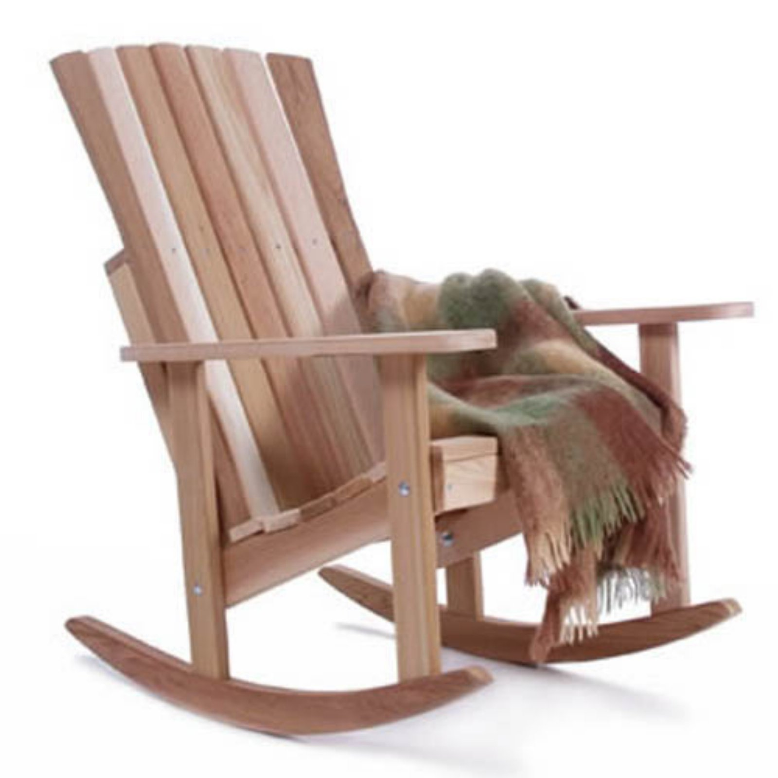 All Things Cedar Athena Adirondack Rocking Chair - Western Red Cedar