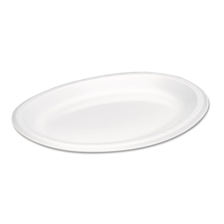 - Genpak Elite Laminated Foam Platters, 8 1/2 x 11 1/2, White, 125/Pack, 4 Pack/Carton -GNPLAM11