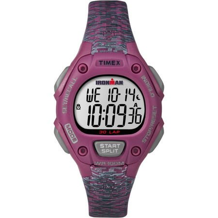 Women's Ironman Classic 30 Mid-Size Pink/Gray Resin Strap