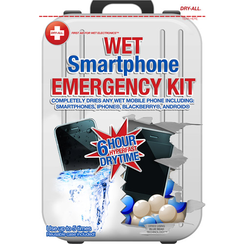Dry-All Wet Smartphone Emergency Kit - up to 5 uses