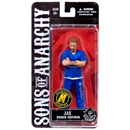Sons of Anarchy Jax Teller Action Figure [Blue Prison Outfit]