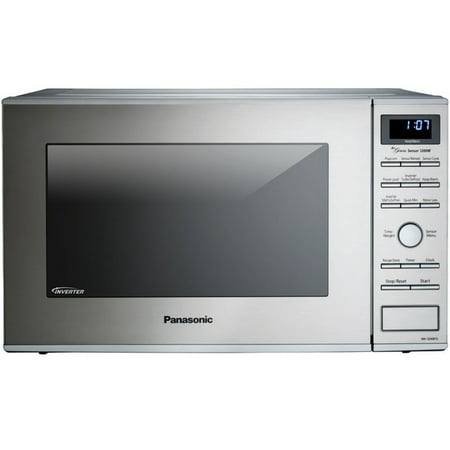 Panasonic 1 2 Cu Ft Built In Countertop Microwave Oven With Inverter Technology