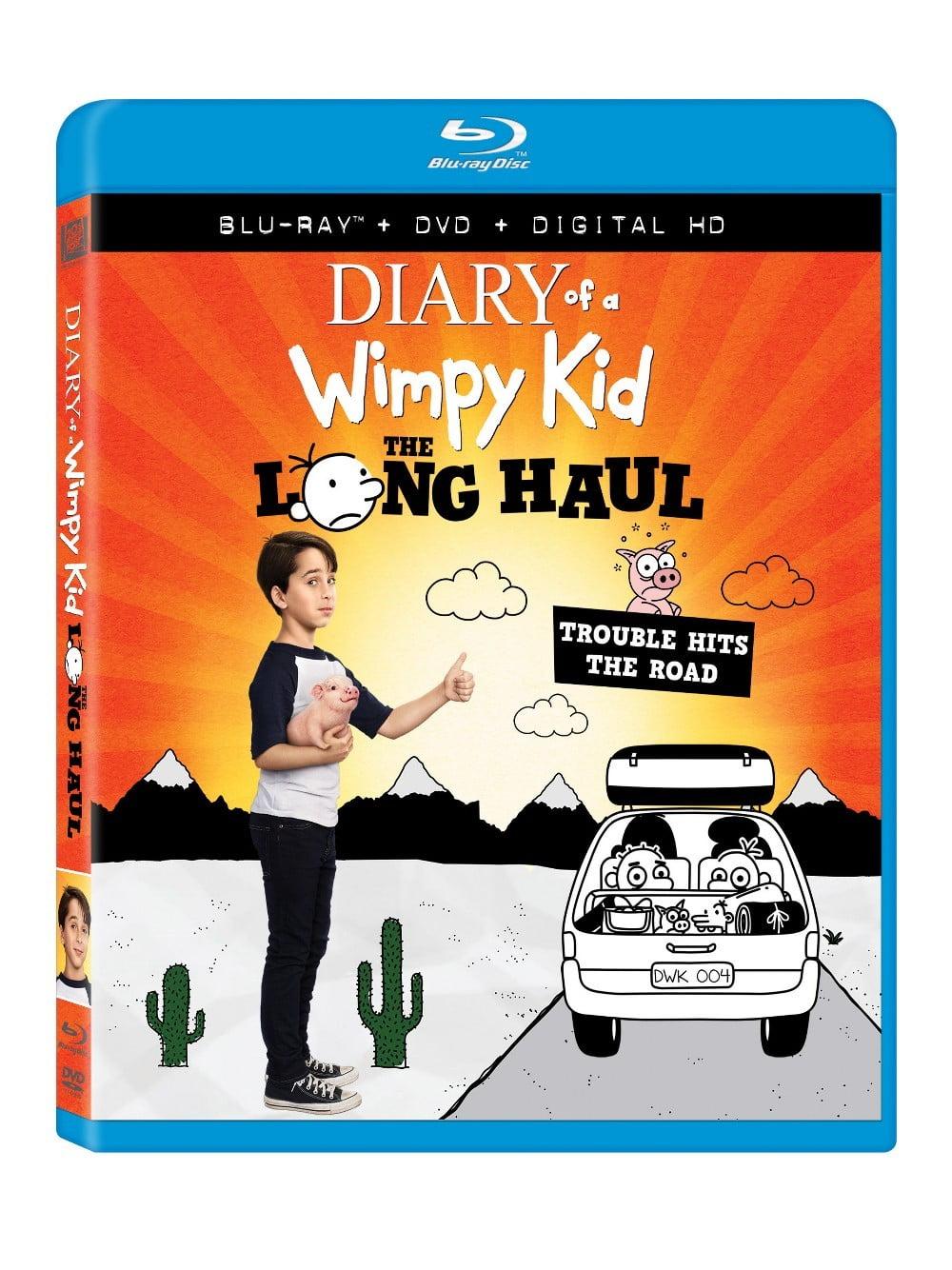 Diary Of A Wimpy Kid The Long Haul Blu Ray Dvd Walmart Com Walmart Com