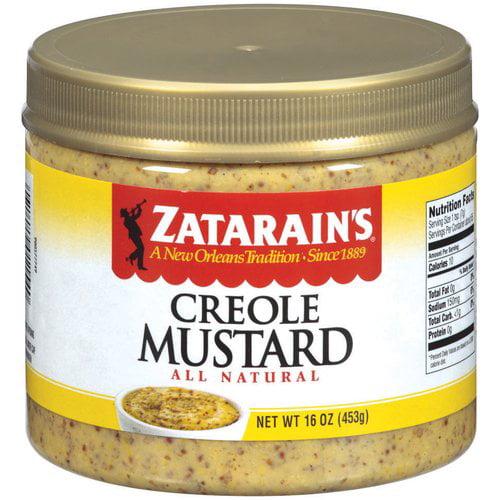 Zatarain's Creole Mustard, 16 oz