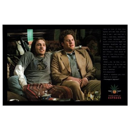 Pineapple Express Poster James Franco New 24X36