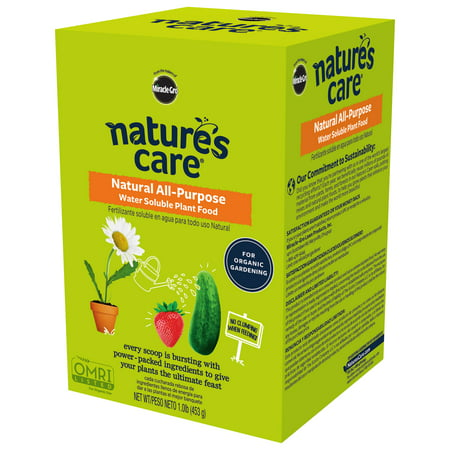Nature's Care Natural All-Purpose Water Soluble Plant - Water Soluble Saline