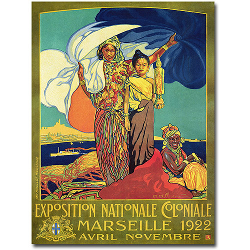 "Trademark Art ""Expocision National Coloniale"" Canvas Wall Art by David Dellepiane"