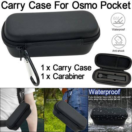 Waterproof Travel Carry Case Hard Shell Bag With Carabiner For 2019 hotsales DJI Osmo