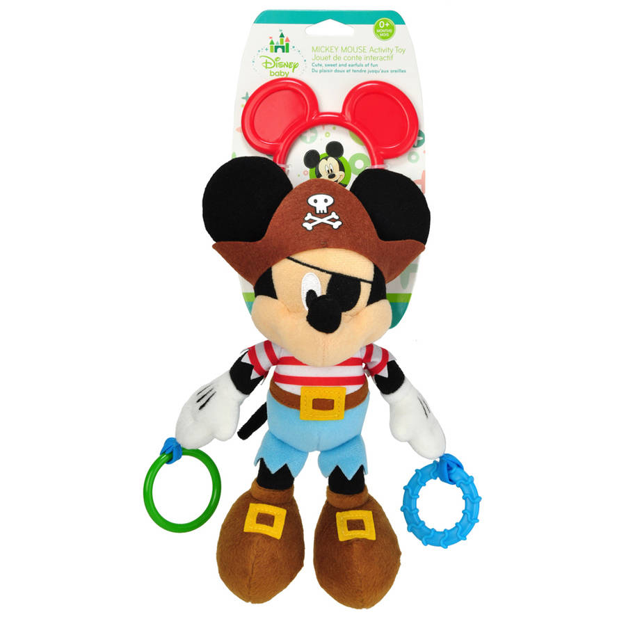 Disney Baby, Mickey Mouse Pirate Activity Toy by Kids Preferred