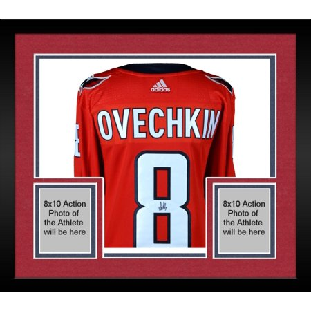 quality design 5b1da 062ab Framed Alex Ovechkin Washington Capitals 2018 Stanley Cup Champions  Autographed Red Adidas Authentic Jersey with 2018 Stanley Cup Final Patch -  ...