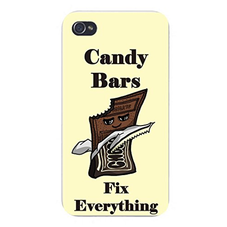 Apple iPhone Custom Case 4 4S White Plastic Snap On -