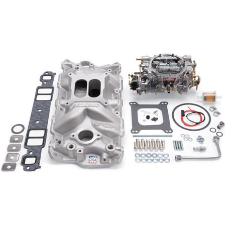 Manifold & Carburetor Kit for Small Block - Chevy - image 1 of 1