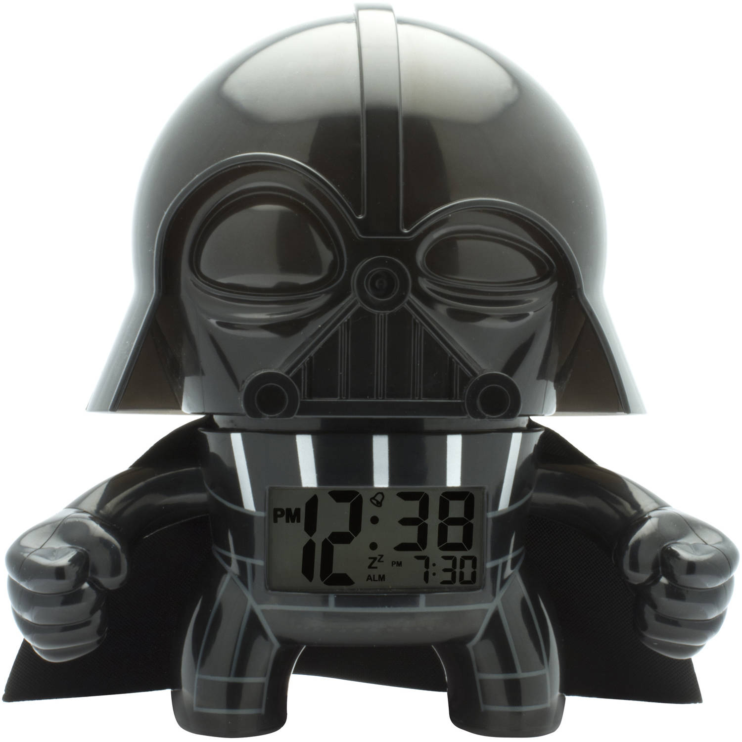BULBBOTZ STAR WARS DARTH VADER KIDS LIGHT UP ALARM CLOCK