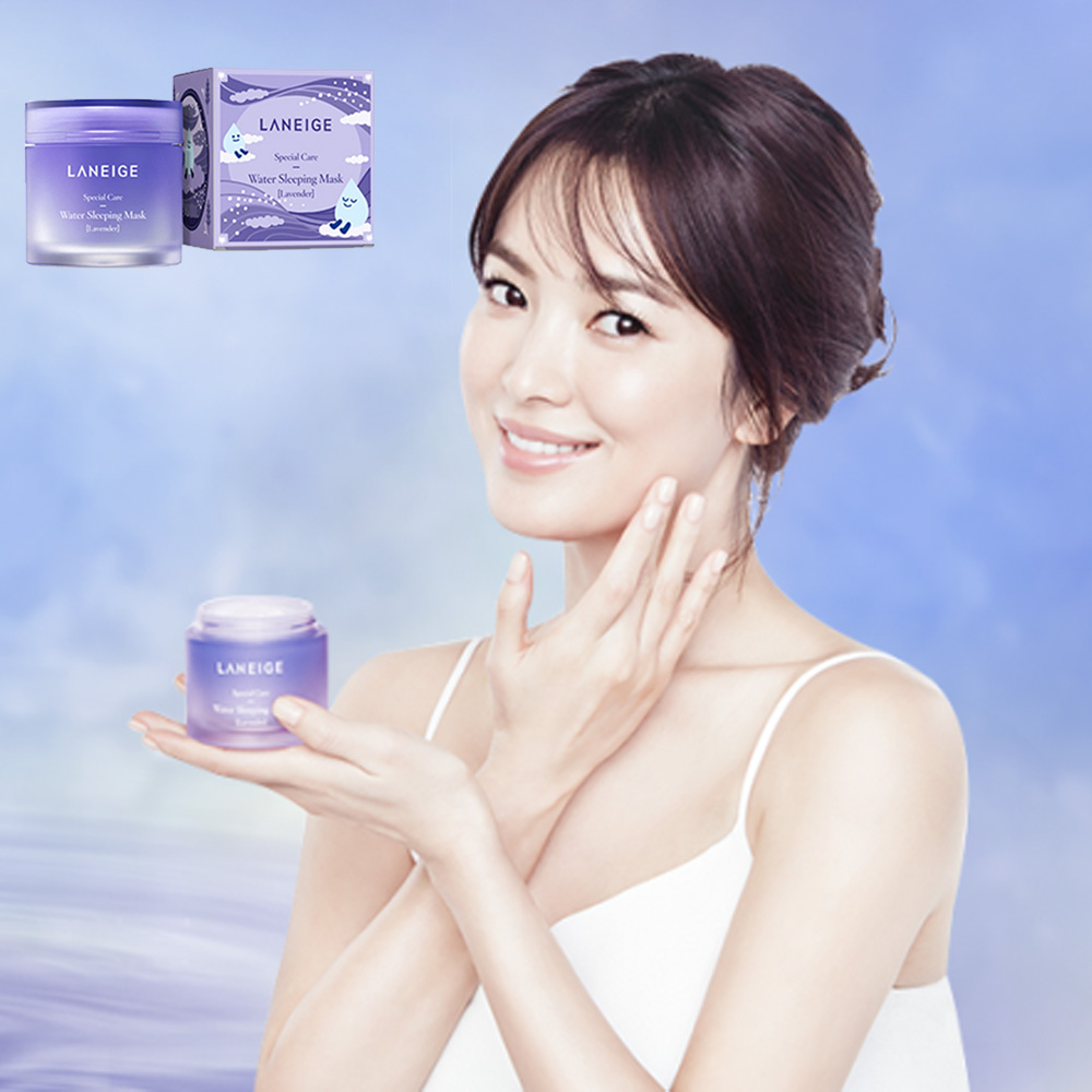 Image results for Laneige Water Sleeping Mask 15ml Original / Lavendar