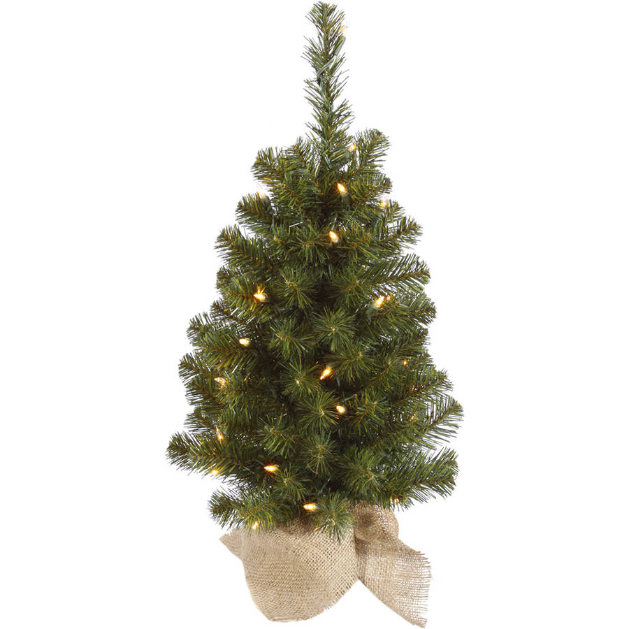 "Vickerman 30"" Felton Pine Artificial Christmas Tree with 50 Clear Lights"