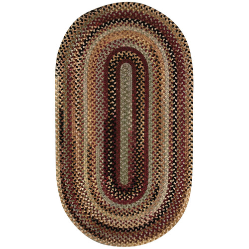 Mason Braided Oval Area Rug