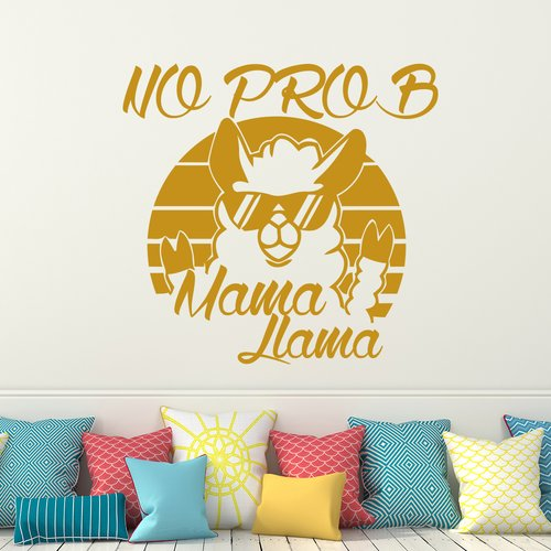 Harriet Bee No Prob Mama Llama Wall Decal
