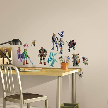 Zelda: Ocarina of Time 3D Peel and Stick Wall