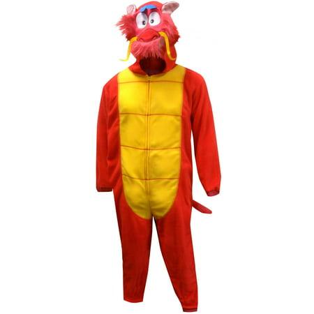 Mulan Mushu Dragon Onesie Pajama - Mans Onesie