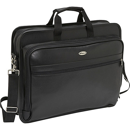 "Targus 17"" Deluxe Leather Laptop Case"