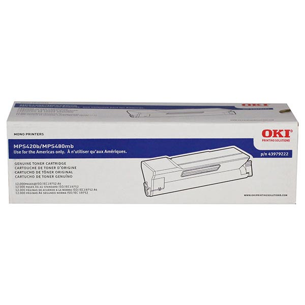 OKI 43979222 Toner Cartridge (12,000 Yield)