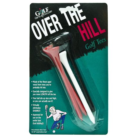 Over The Hill Gifts (Over The Hill Golf Tees- Joke)
