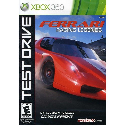 Test Drive Ferrari Racing Legends - Xbox 360