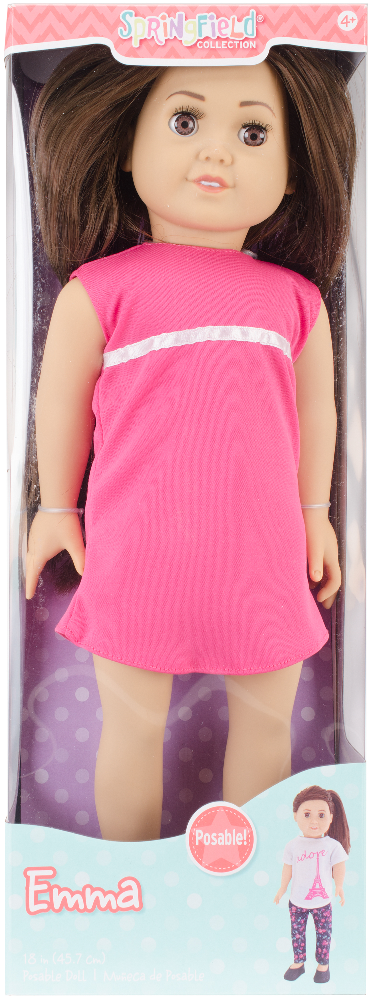 Fibre Craft Springfield Collection Pre-Stuffed Doll, Emma by Fibre Craft