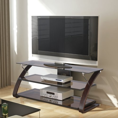 "Spar TV Stand for TVs up to 65"", Mocha"