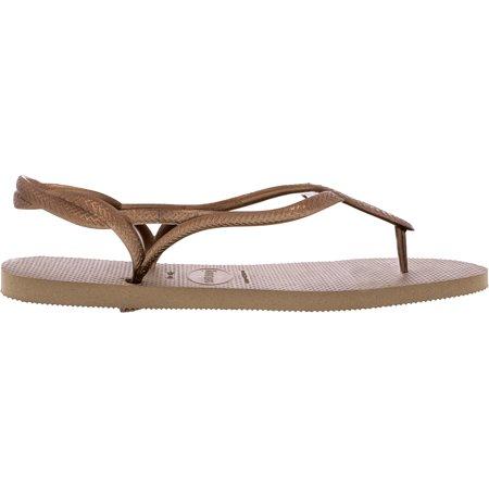 981233295d8 Havaianas Women s Luna Black Rubber Sandal - 9M - image 1 ...