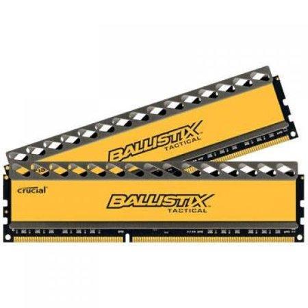 - Crucial Ballistix Tactical 240-Pin DDR3 SDRAM 8 Dual Channel Kit 1333 (PC3 10600) BLT2CP4G3D1337DT1TX0