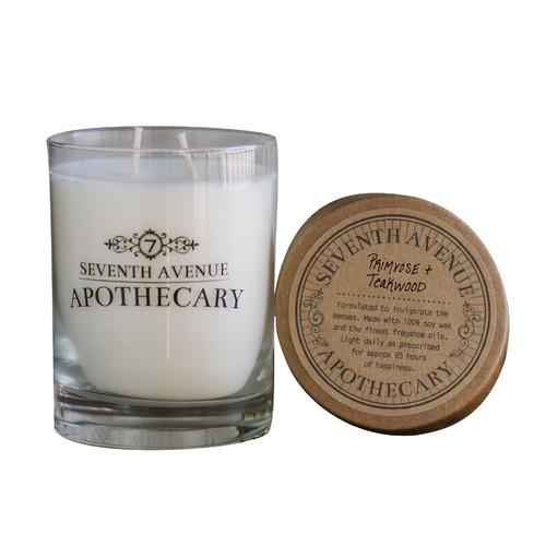 Seventh Avenue Apothecary Primrose and Teakwood Candle