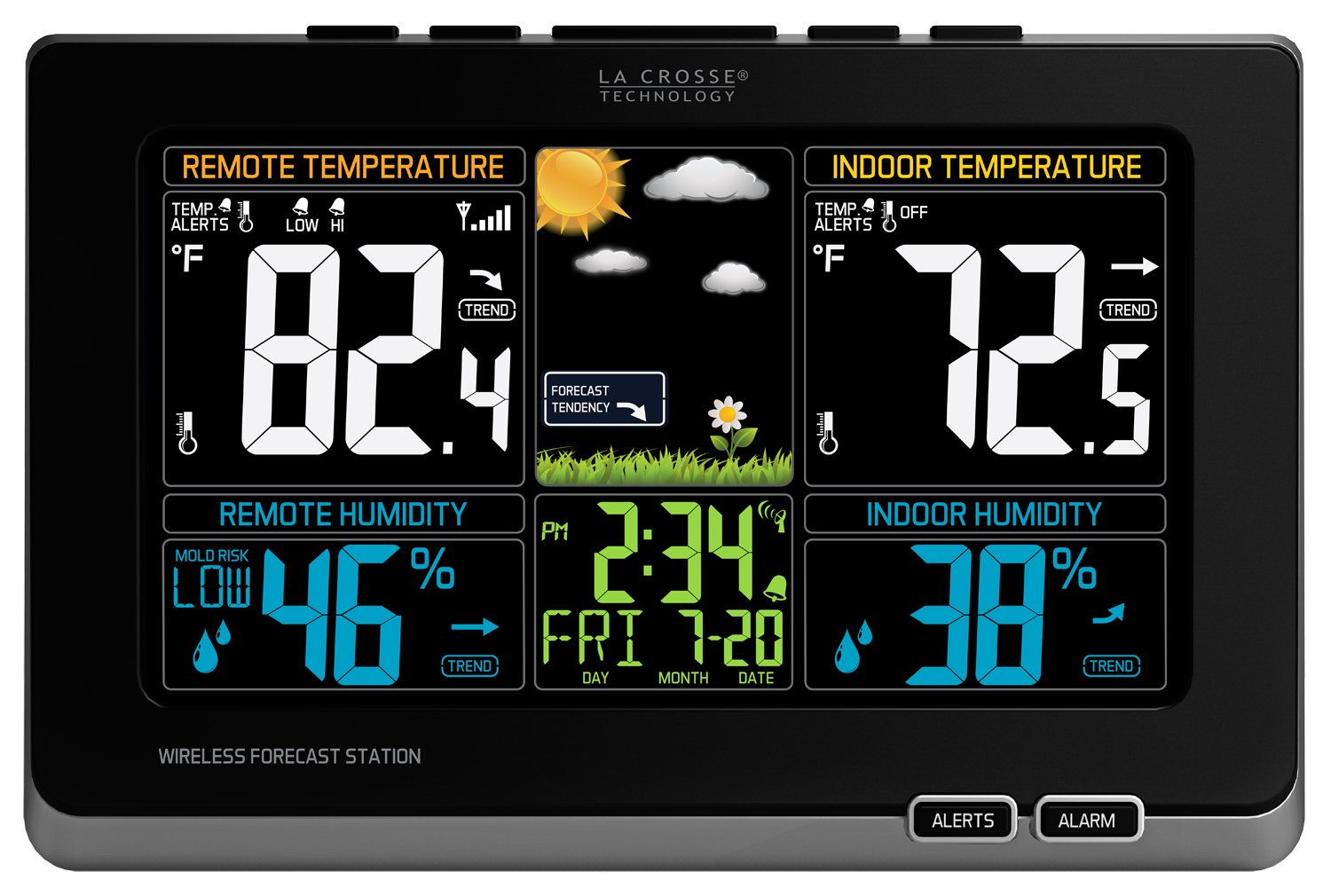 Click here to buy Lacrosse Technology 308-1414MB La Crosse Technology 308-1414mb Wireless Weather Station With Color Lcd by LaCrosse Technology.