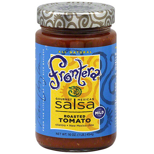 Frontera Gourmet Mexican Roasted Tomato Salsa, 16 oz (Pack of 6)