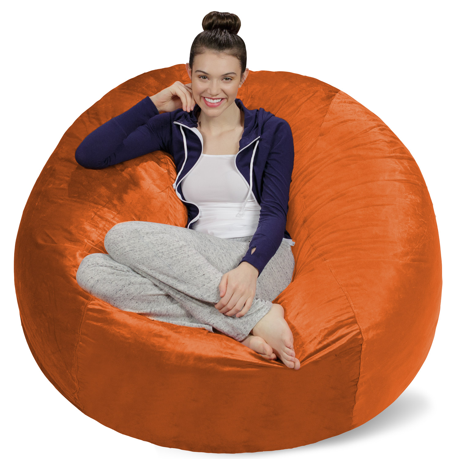Sofa Sack Memory Foam Bean Bag Chair - 5 ft