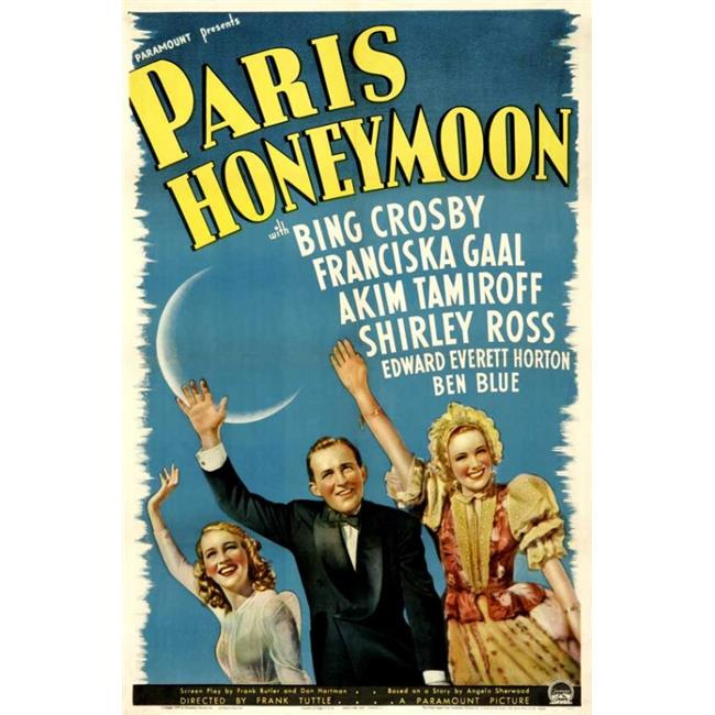 Posterazzi MOVIB22850 Paris Honeymoon Movie Poster - 27 x 40 in. - image 1 de 1