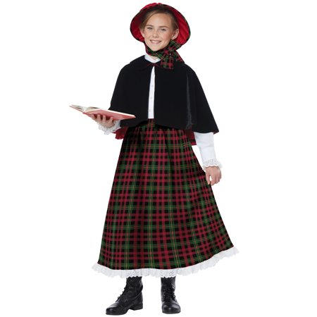 Holiday Caroler Girl Child Costume