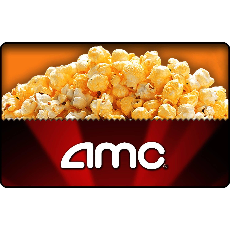 AMC Theatres $25 Gift Card - Walmart.com