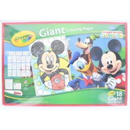 Crayola Giant Coloring Pages - Mickey Mouse - Walmart.com